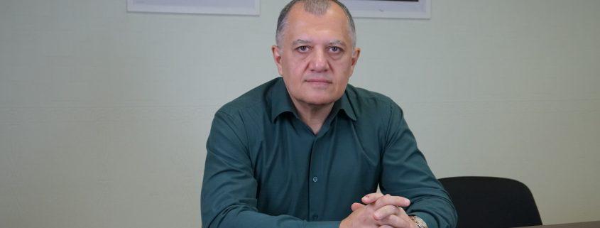 с директором Краснодарской Школы Кино Эдуардом Арутюновым